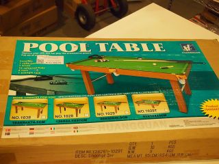 Kids Wooden Snooker Mini Pool Table Top with Accesories