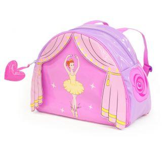 New Kidorable Childrens Ballerina Backpack Lunch Bag