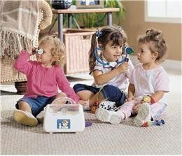 Kids Doctor Kit Pretend Play Doctor Set Toddler Safe Medical Kit Great