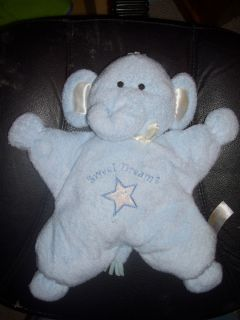 Kids Preferred Blue Elephant Star Sweet Dreams Baby Lovey 2003 Super
