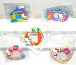 Sanrio Hello Kitty Photo Frame Keychain Figure x 5