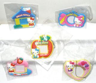 Sanrio Hello Kitty Photo Frame Keychain Figure x 5