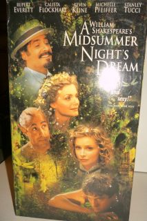 Midsummer Nights Dream VHS 1999 086162142529