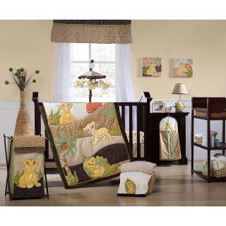 Kids Line Lion King 7 Piece Crib Bedding Set