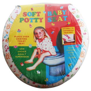 Baby Child Kids Toilet Seat Soft Padded Potty Training Infants Toddler