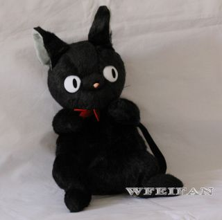 Kikis Delivery Service jiji Cat Soft Plush Doll Backpack Bag