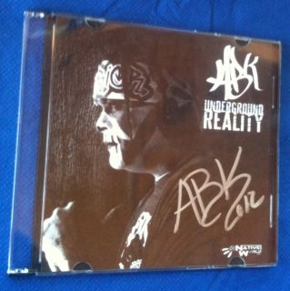 icp ABK Cd Anybody Killa Signed Underground Reality Insane Clown Posse