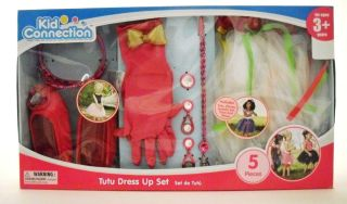 KID CONNECTION DRESS UP TUTU SET TOY GIFT HOLIDAY CHILDREN SHOES TIARA