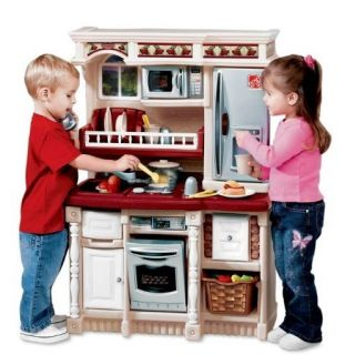 New Step2 Lifestyle Custom Kids Play Kitchen and Play Food Set Playset