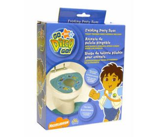 GO Nick Jr Kids Toddler Travel Portable Folding Potty Toilet Seat NIB