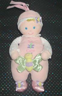 Kids Preferred Too Cute Musical Doll Lovey Pull Plush
