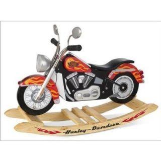 KidKraft Harley Davidson Motorcycle Roaring Softail Rocker KID10011