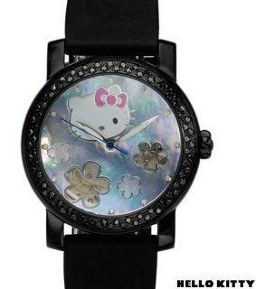Kitty Swiss Automatic Watch 0 75ctw Diamonds Kimora Lee Simmons