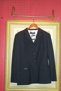 Kingsland Equestrian Show Jacket Hunt Coat Navy Wool