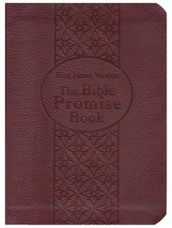 KJV King James Bible Promise Book Gift Edition IMT Leather 60 Bible