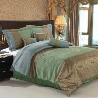 Luxury Bed Linens Queen King Comforter Set Royal Hotel Collection 7