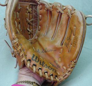 Leather 10 Wilson Kirk Gibson Baseball Softball Glove Mitt A2150