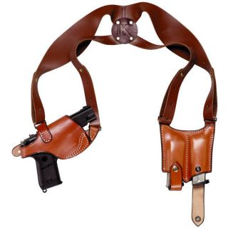 Triple K Ultra Leather Shoulder Holster