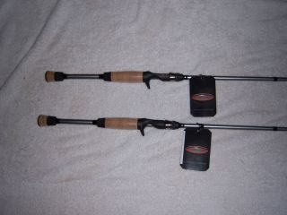 Kistler Carbon Steel Micro All Purpose 610 Heavy Action Casting Rods