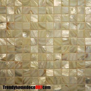 mother of pearl mosaic tile backsplash kitchen wall bathroom