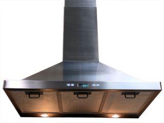 Standard Stainless Steel Kitchen Exhaust Wall Fan 36B B Stock