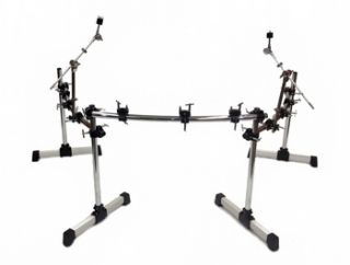 DELUXE DRUM RACK KIT 3 SECTIONS 26 Accessories Clamps Cymbal Stands HD