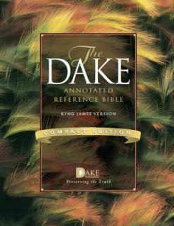 FINIS DAKE KING JAMES VERSION KJV COMPACT ANNOTATED STUDY BIBLE SOFT