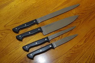 Gerber Chefs Kitchen Knife Set Made in USA – Set of 4