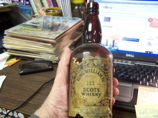 VINTAGE   KING WILLIAM IV   V.O.P   SCOTS WHISKY   BOTTLE   VERY GOOD