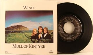 McCartney Beatles Mull of Kintyre USA 45 with Picture Sleeve
