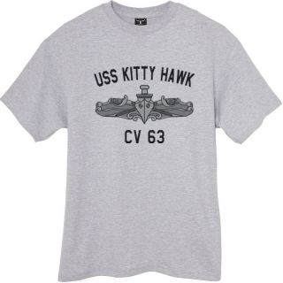 US Navy USS Kitty Hawk CV 63 T Shirt Aircraft Carrier