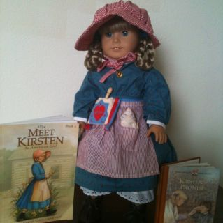 American Girl Doll Retired Kirsten from The Plesant Company Complete