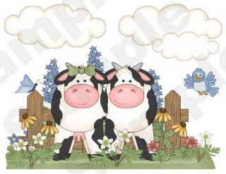 Barnyard Farm Baby Nursery Kitchen Wall Border Stickers Decals