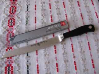Wusthof Grand Prix II 8 Bread Salami Knife Brand New