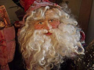 Kims Klaus Handmade Santa Claus Teddy Vintage Christmas Anitique