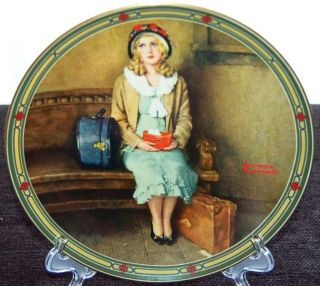 Knowles Limited Collector Plate 1985 A Young Girls Dream by Norman