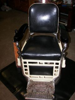 Theo Koch Antique Barber Chair Excellent Condition