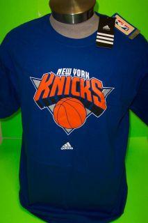 New York Knicks Adidas Logo NBA Tee Shirts