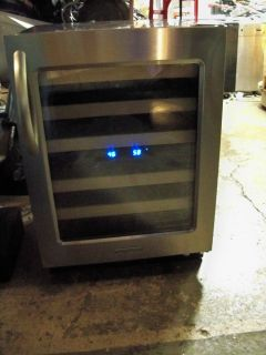 KitchenAid Architect Series II KUWS24RSSS Stainless Steel Wine Cooler