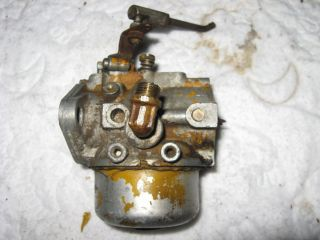 Cub Cadet Kohler Carter Model N 26 Carburetor Model 102 K241AS 10HP