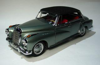 24 Mercedes Benz 300D 1958 Cabriolet Konrad Adenauer MIB Mint With Box
