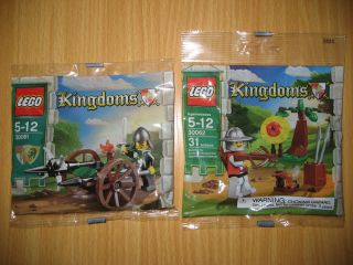 New SEALED Lego Knights Kingdom 30061 30062 Promo Set