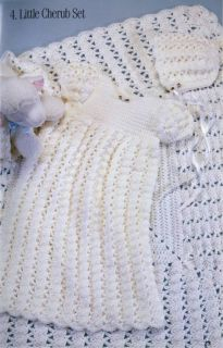 Crochet Patterns Knit Baby Sweaters Christening Shawl