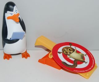 2009 Kowalski Flips #5 Penguins Of Madagascar McDonalds Happy Meal