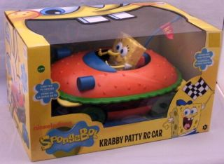 Spongebob Squarepants Krabby Patty Remote Control Car