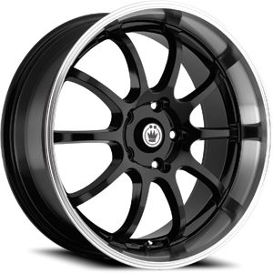 15 Konig Lightning Black Rims Wheels Civic Integra XB