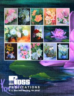 Joy of Painting Flowers Book II by Annette Kowalski New
