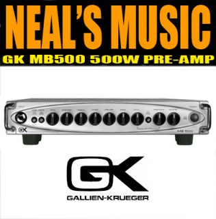 Gallien Krueger GK MB 500 500 Watt Bass Travel Amp