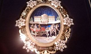 The White House Christmas Ornament 2004