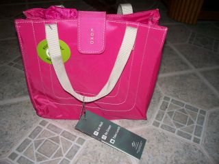 Koko Insulated Eco Friendly Lunch Bag Sadie Design Fuschia NWT